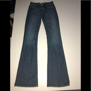 Paper denim & co boot cut jeans 24 vision stretch